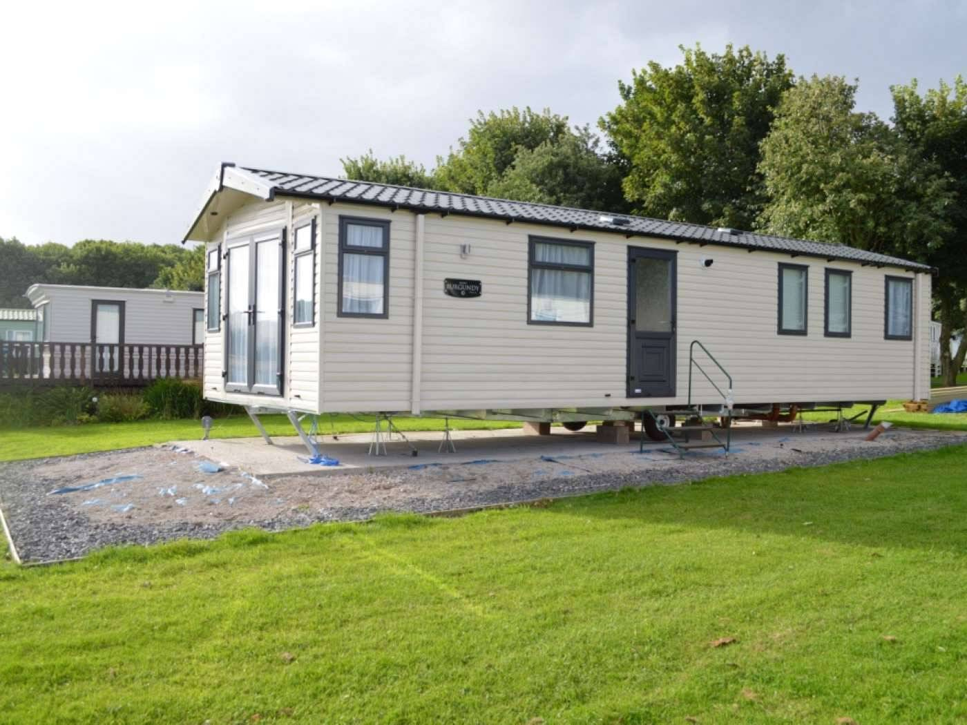 Mr & Mrs  Steve McNair MBE, Pitch 346, Old Park Wood Holiday Park, Grange-over-Sands